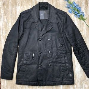 {G-Star Raw} XL Cotton Padded Decoy Peacoat